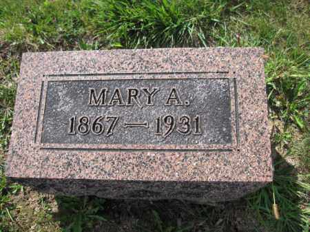 GRAHAM, MARY A. TAYLOR - Union County, Ohio | MARY A. TAYLOR GRAHAM - Ohio Gravestone Photos