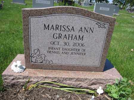 GRAHAM, MARISSA ANN - Union County, Ohio | MARISSA ANN GRAHAM - Ohio Gravestone Photos