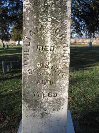 GRAHAM, WILLIAM - Union County, Ohio | WILLIAM GRAHAM - Ohio Gravestone Photos