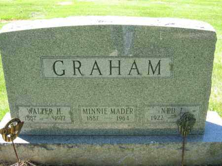 GRAHAM, WALTER H. - Union County, Ohio | WALTER H. GRAHAM - Ohio Gravestone Photos