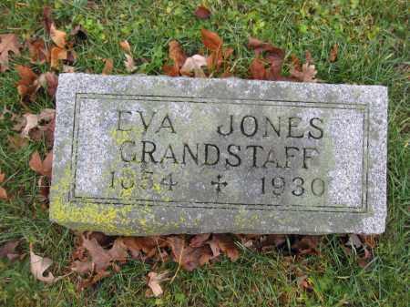 GRANDSTAFF, EVA NIEL JONES - Union County, Ohio | EVA NIEL JONES GRANDSTAFF - Ohio Gravestone Photos