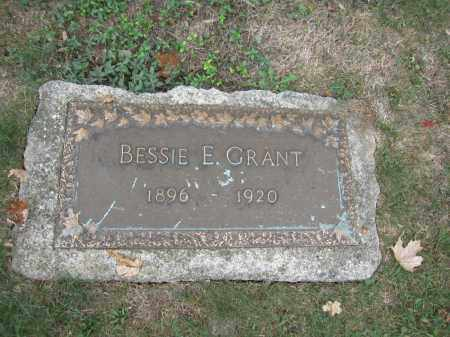 GRANT, BESSIE E. - Union County, Ohio | BESSIE E. GRANT - Ohio Gravestone Photos