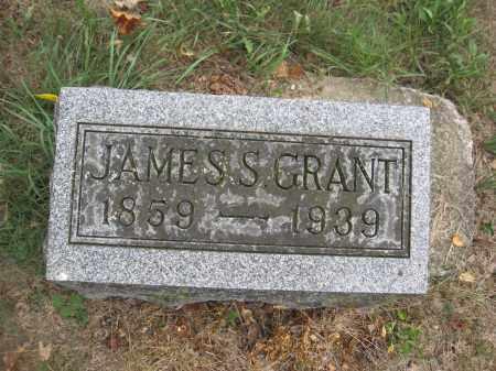 GRANT, JAMES S. - Union County, Ohio | JAMES S. GRANT - Ohio Gravestone Photos
