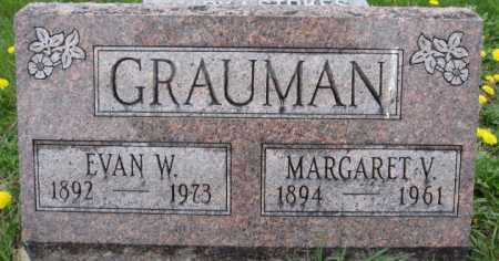 GRAUMAN, MARGARET V. - Union County, Ohio | MARGARET V. GRAUMAN - Ohio Gravestone Photos
