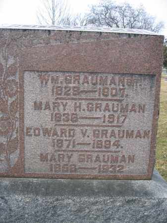 GRAUMAN, EDWARD V. - Union County, Ohio | EDWARD V. GRAUMAN - Ohio Gravestone Photos