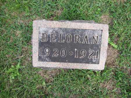 GRAVES, DELORAN - Union County, Ohio | DELORAN GRAVES - Ohio Gravestone Photos