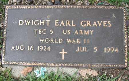 GRAVES, DWIGHT EARL - Union County, Ohio | DWIGHT EARL GRAVES - Ohio Gravestone Photos