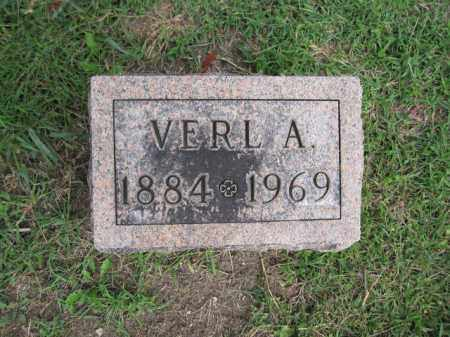 GRAVES, VERL A. - Union County, Ohio | VERL A. GRAVES - Ohio Gravestone Photos