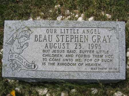 GRAY, BEAU STEPHEN - Union County, Ohio   BEAU STEPHEN GRAY - Ohio Gravestone Photos
