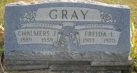 GRAY, CHALMERS J. - Union County, Ohio | CHALMERS J. GRAY - Ohio Gravestone Photos
