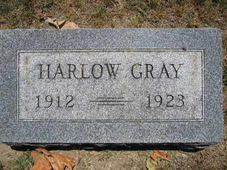 GRAY, HARLOW - Union County, Ohio | HARLOW GRAY - Ohio Gravestone Photos