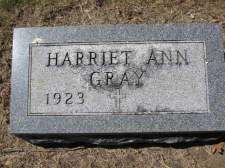 GRAY, HARRIET ANN - Union County, Ohio | HARRIET ANN GRAY - Ohio Gravestone Photos