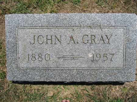 GRAY, JOHN A. - Union County, Ohio | JOHN A. GRAY - Ohio Gravestone Photos