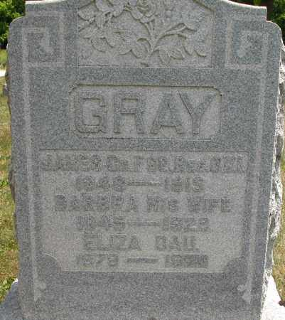 GRAY, ELIZA - Union County, Ohio | ELIZA GRAY - Ohio Gravestone Photos