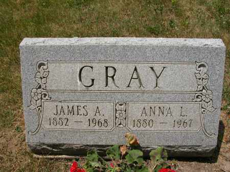 GRAY, JAMES A. - Union County, Ohio | JAMES A. GRAY - Ohio Gravestone Photos