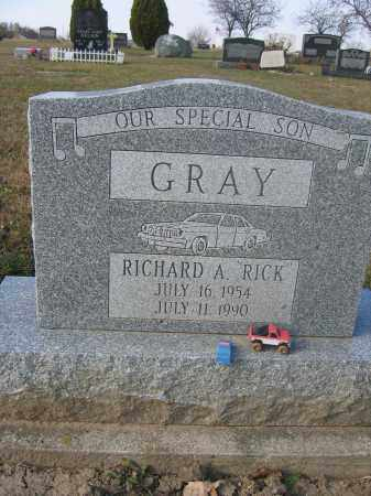 GRAY, RICHARD A. - Union County, Ohio | RICHARD A. GRAY - Ohio Gravestone Photos