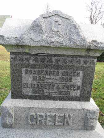 GREEN, BOANERGES - Union County, Ohio | BOANERGES GREEN - Ohio Gravestone Photos