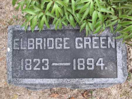 GREEN, ELBRIDGE - Union County, Ohio | ELBRIDGE GREEN - Ohio Gravestone Photos