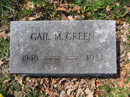 GREEN, GAIL M. - Union County, Ohio | GAIL M. GREEN - Ohio Gravestone Photos