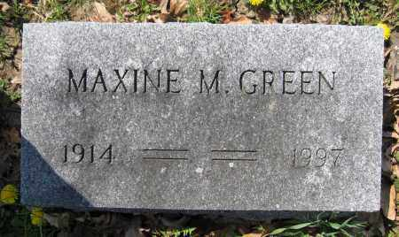GREEN, MAXINE M. - Union County, Ohio | MAXINE M. GREEN - Ohio Gravestone Photos