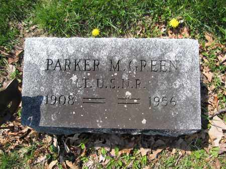 GREEN, PARKER M. - Union County, Ohio | PARKER M. GREEN - Ohio Gravestone Photos