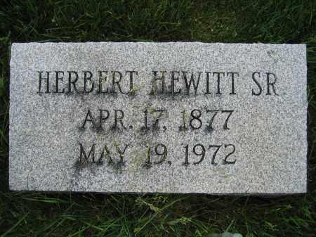 GREEN, SR., HERBERT HEWITT - Union County, Ohio | HERBERT HEWITT GREEN, SR. - Ohio Gravestone Photos