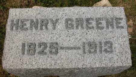 GREENE, HENRY - Union County, Ohio | HENRY GREENE - Ohio Gravestone Photos