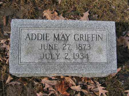 GRIFFIN, ADDIE MAY - Union County, Ohio | ADDIE MAY GRIFFIN - Ohio Gravestone Photos