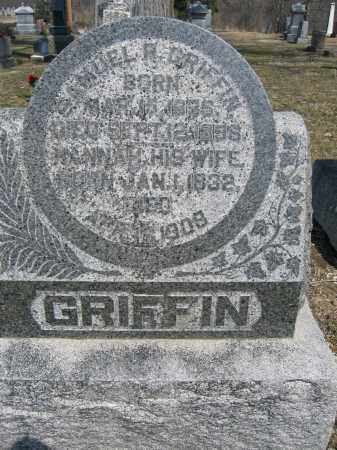 GRIFFIN, HANNAH - Union County, Ohio | HANNAH GRIFFIN - Ohio Gravestone Photos