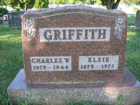 GRIFFITH, ELSIE - Union County, Ohio | ELSIE GRIFFITH - Ohio Gravestone Photos