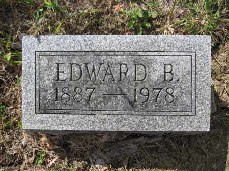 GRIFFITH, EDWARD B. - Union County, Ohio | EDWARD B. GRIFFITH - Ohio Gravestone Photos