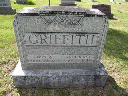 GRIFFITH, KATHERINE E. - Union County, Ohio | KATHERINE E. GRIFFITH - Ohio Gravestone Photos