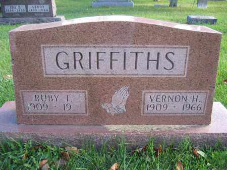 GRIFFITHS, RUBY T. - Union County, Ohio | RUBY T. GRIFFITHS - Ohio Gravestone Photos