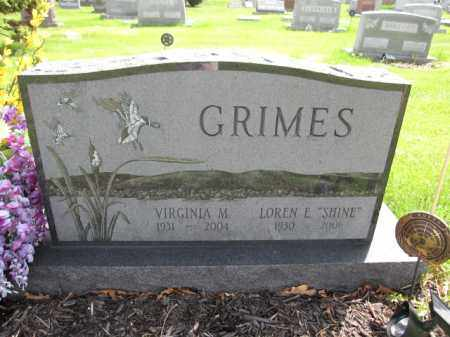 GRIMES, LOREN E. - Union County, Ohio | LOREN E. GRIMES - Ohio Gravestone Photos