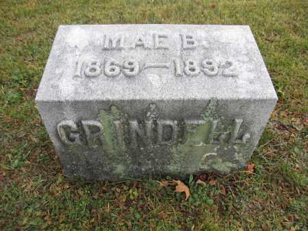 GRINDELL, MAE B. - Union County, Ohio | MAE B. GRINDELL - Ohio Gravestone Photos