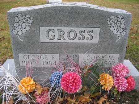 GROSS, GEORGE E. - Union County, Ohio | GEORGE E. GROSS - Ohio Gravestone Photos