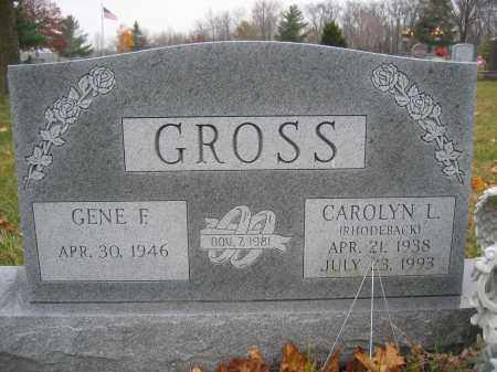 GROSS, GENE F. - Union County, Ohio | GENE F. GROSS - Ohio Gravestone Photos