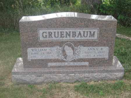GRUENBAUM, WILLIAM G. - Union County, Ohio | WILLIAM G. GRUENBAUM - Ohio Gravestone Photos