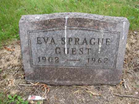 GUEST, EVA SPRAGUE - Union County, Ohio | EVA SPRAGUE GUEST - Ohio Gravestone Photos