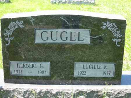 GUGEL, HERBERT G. - Union County, Ohio | HERBERT G. GUGEL - Ohio Gravestone Photos