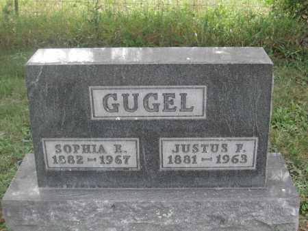 GUGEL, JUSTUS F. - Union County, Ohio | JUSTUS F. GUGEL - Ohio Gravestone Photos