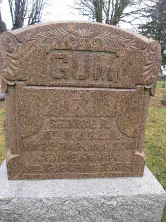 GUM, JENNIE MOORE - Union County, Ohio | JENNIE MOORE GUM - Ohio Gravestone Photos