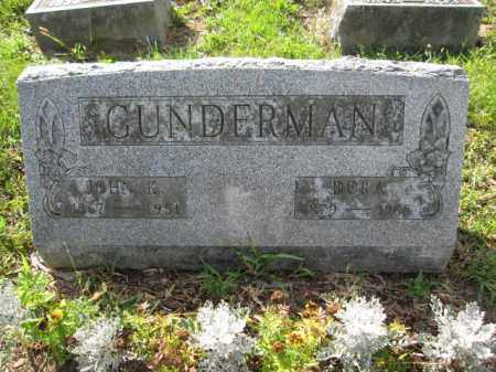 GUNDERMAN, JOHN K. - Union County, Ohio | JOHN K. GUNDERMAN - Ohio Gravestone Photos