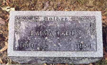 GUY, EMMA O - Union County, Ohio | EMMA O GUY - Ohio Gravestone Photos