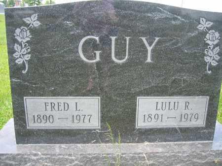 GUY, FRED L. - Union County, Ohio | FRED L. GUY - Ohio Gravestone Photos