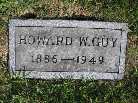 GUY, HOWARD W. - Union County, Ohio | HOWARD W. GUY - Ohio Gravestone Photos