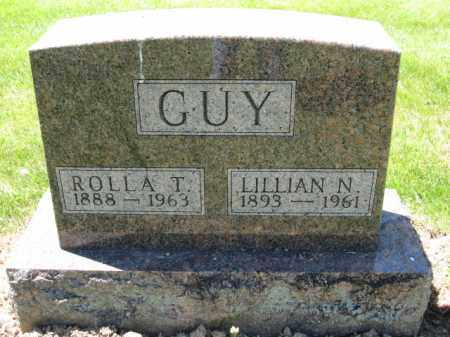 GUY, ROLLA T. - Union County, Ohio | ROLLA T. GUY - Ohio Gravestone Photos