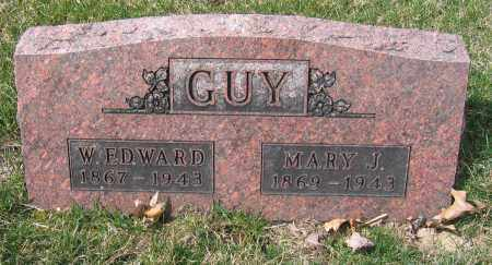 GUY, W. EDWARD - Union County, Ohio | W. EDWARD GUY - Ohio Gravestone Photos