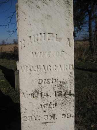 HAGGARD, RACHEL A. - Union County, Ohio | RACHEL A. HAGGARD - Ohio Gravestone Photos