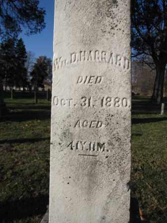 HAGGARD, WILLIAM D. - Union County, Ohio   WILLIAM D. HAGGARD - Ohio Gravestone Photos